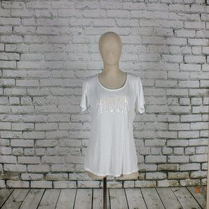GUESS t-shirt Size M color white